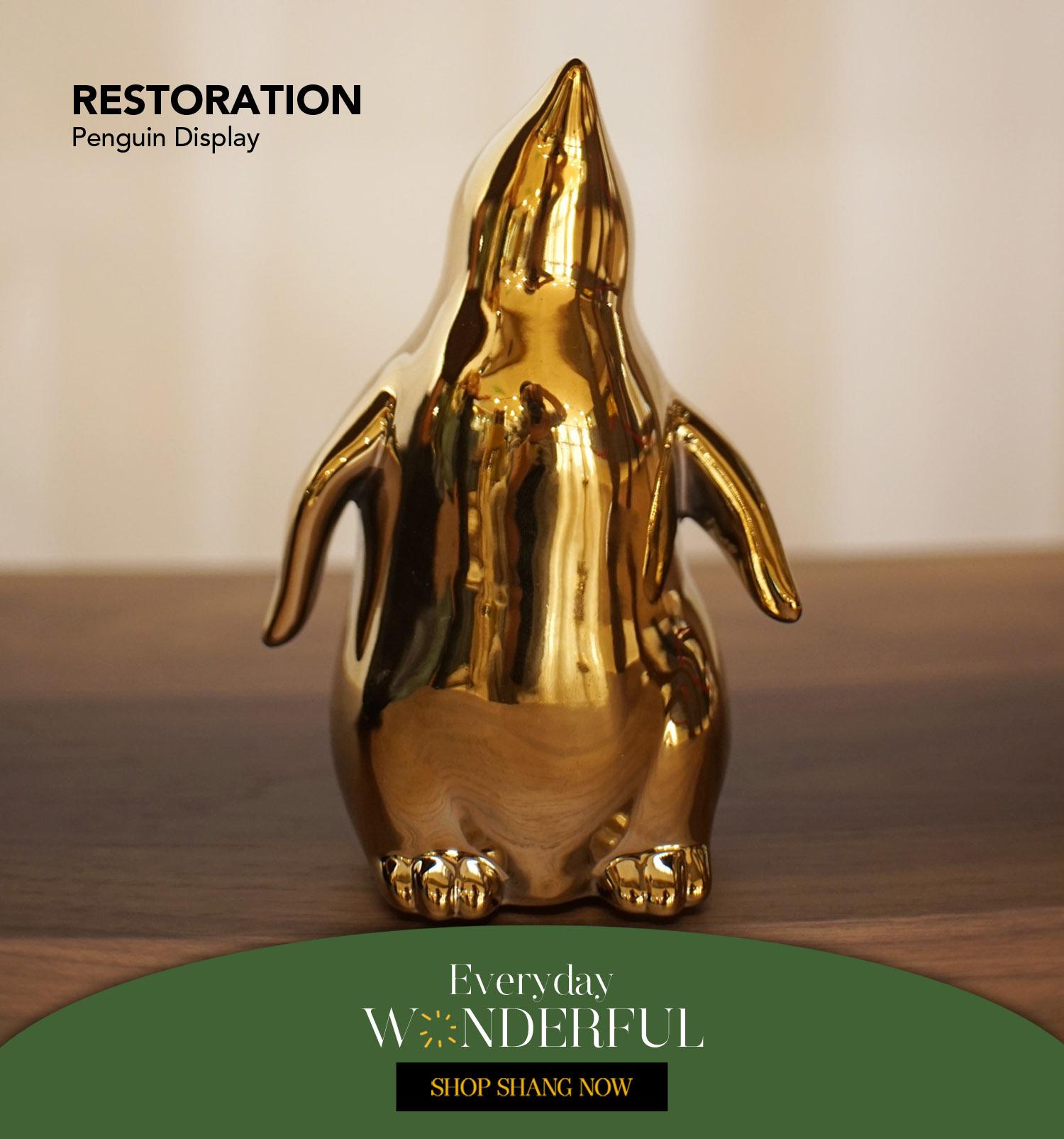 Penguin Display from Restoration