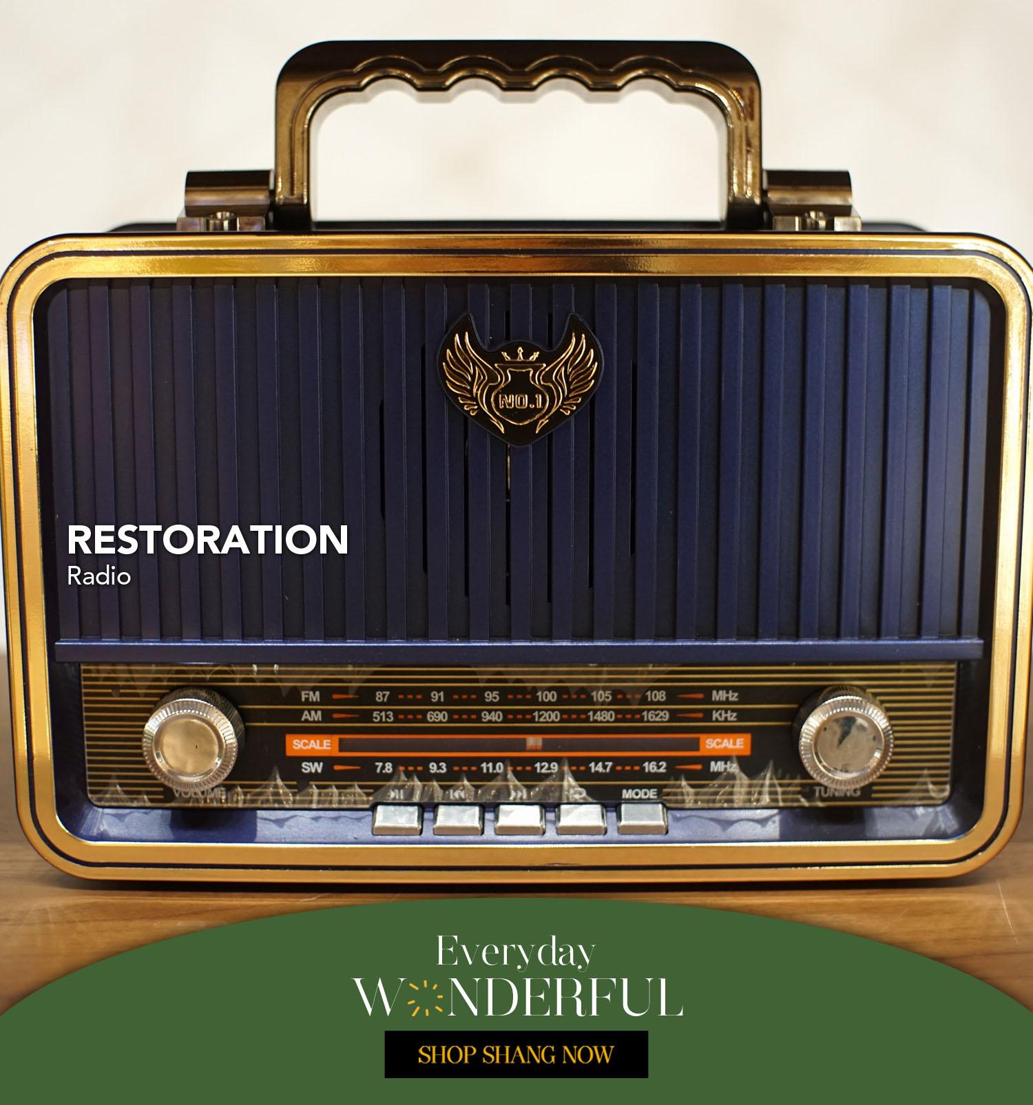 Radio from Restoration