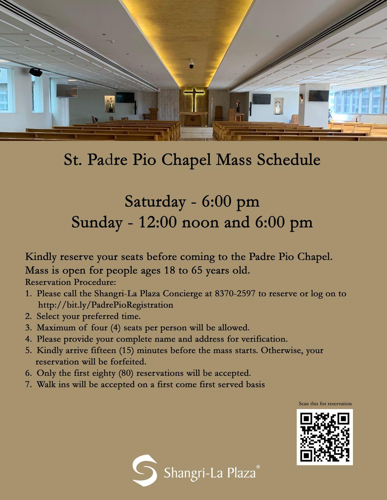 Saint Padre Pio Chapel