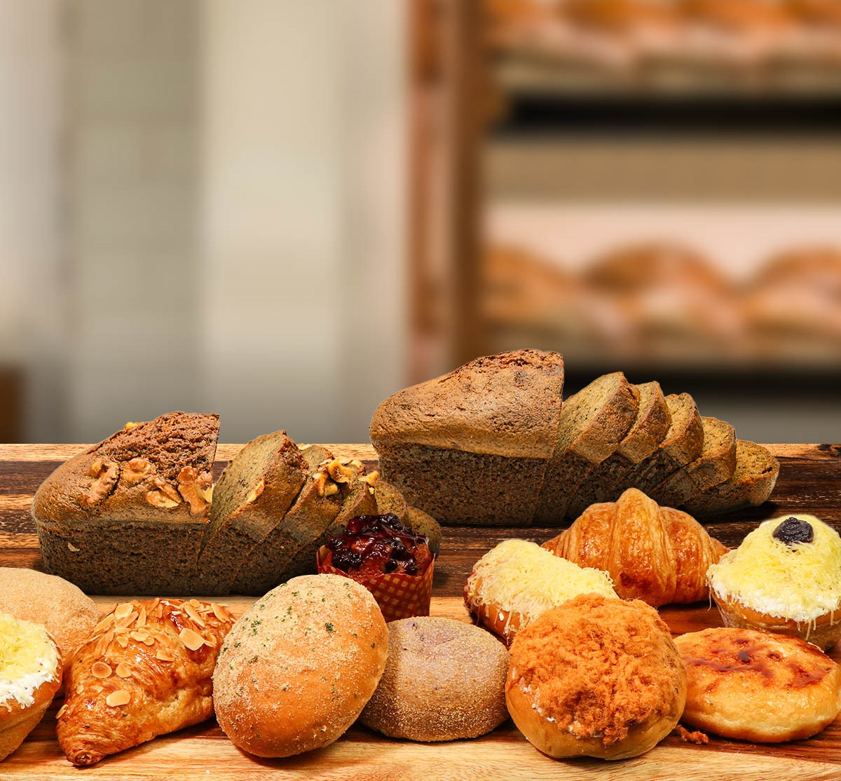 The Bakeshop Assorted Pastries