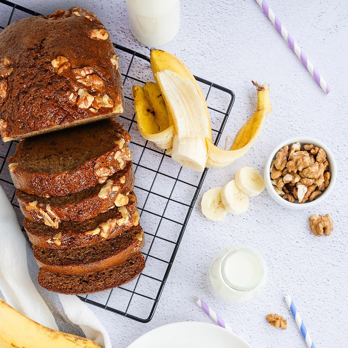 The Bakeshop Walnut Banana Bread