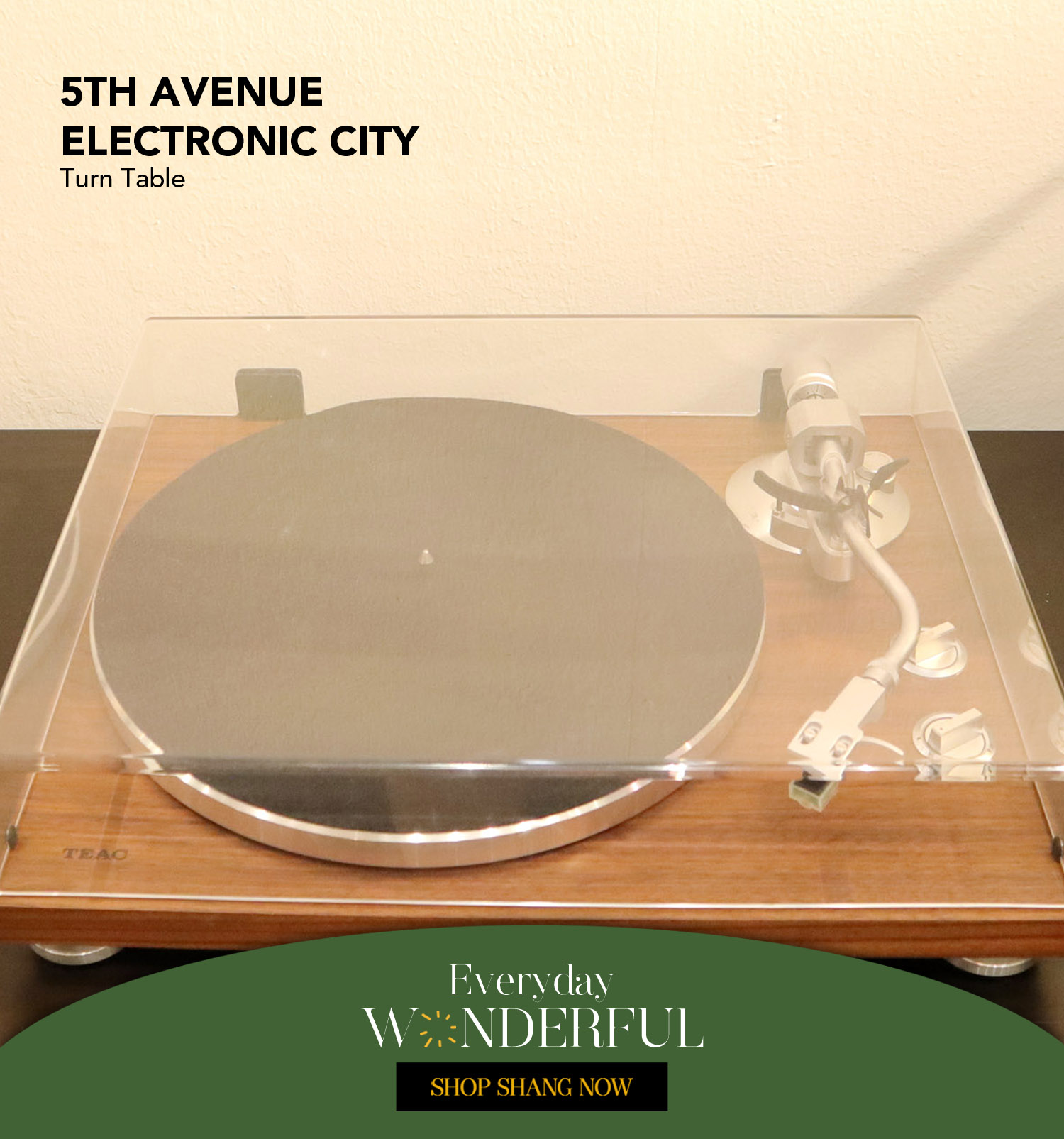 Turn Table from 5th Avenue Electronic City