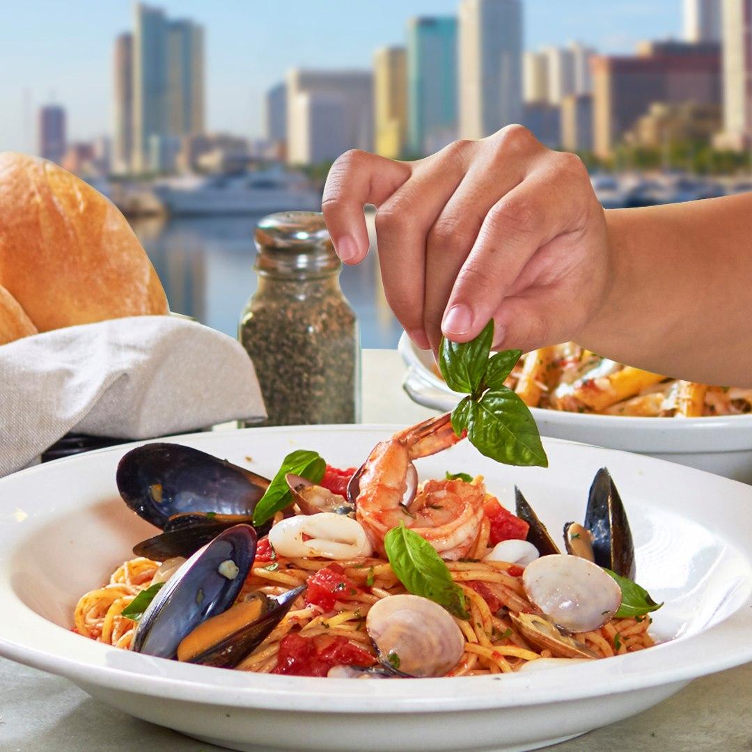 A photo of Italianni's seafood cioppino