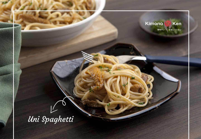 Kimono Ken's Uni Spaghetti