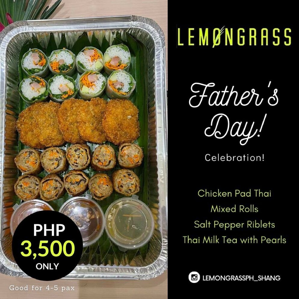 LemonGrass Father's Day treat