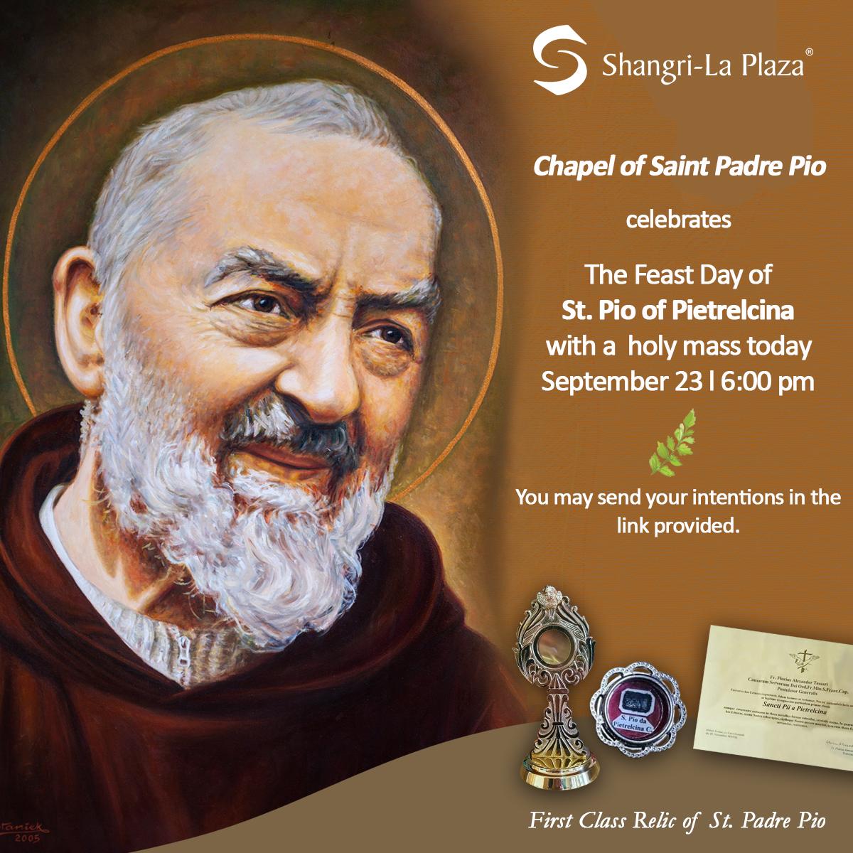 Feast Day of Saint Padre Pio